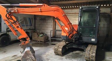 Rent mini excavator 5 ton BRH Amiens €200