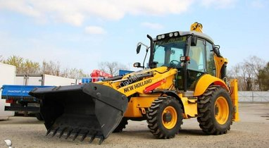 Location Tractopelle New Holland Troyes 480 €