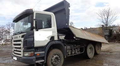 Location Camion bi-benne Scania Querrieu 200€