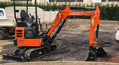 Location Mini-pelle HITACHI 2T Beauvais 125 €