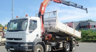 Camion Ampliroll Grue, Sainghin-En-Weppes 512€