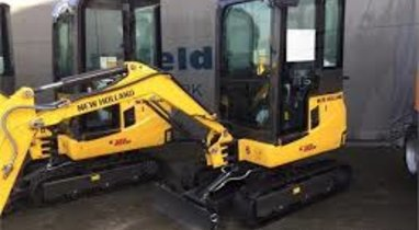 Location Mini-pelle New Holland 2,5t Troyes 480 €