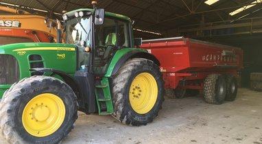 Location Tracto benne 21 tonnes Amiens 200€