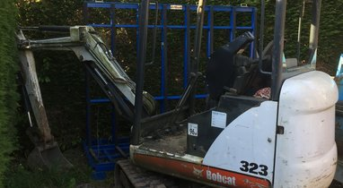Location Mini-pelle Bobcat 323 1,6t, Lecelles 100 €
