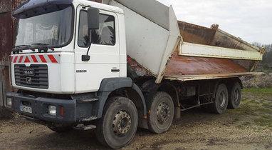 Location Camion bi-benne 20t, Sainghin-En-Weppes 508€