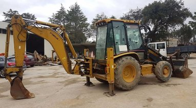 Location tractopelle  Caterpillar 432D Vassy 200 €