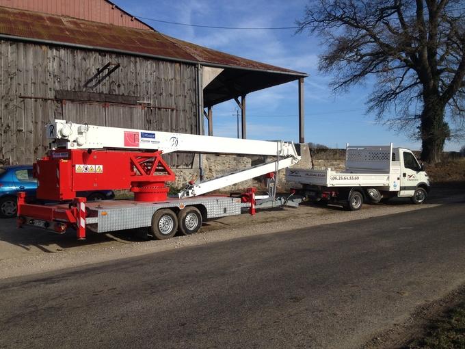 Location grue de levage klaas reims esternay 250 jour equipements a partager - Location camion reims ...