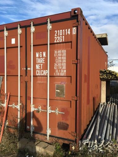location conteneur de chantier 38 m3 camon camon 5 5 jour equipements a partager. Black Bedroom Furniture Sets. Home Design Ideas