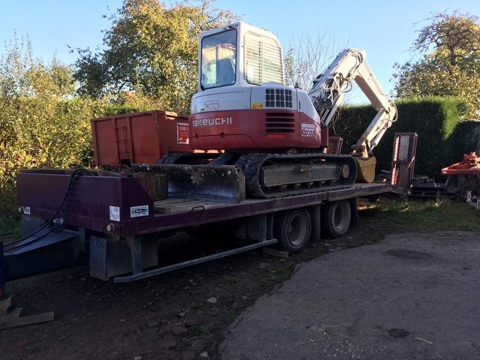 Location porte engins fruehauf 13 tonnes doullens for Porte engin 60 tonnes